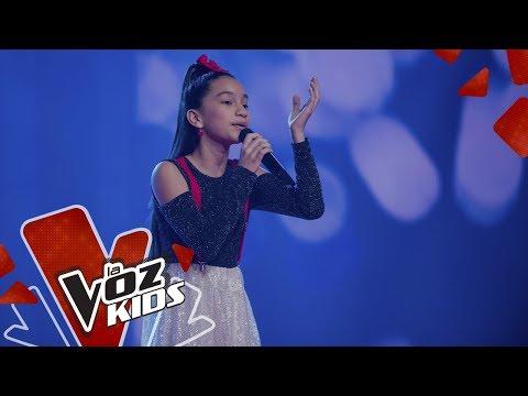 Sarah Lucía canta Se Me Acabó El Amor en los Rescates | La Voz Kids Colombia 2019