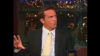 Matthew Perry - Letterman 2004