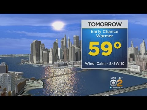 Mild Temps On The Way For The Tri-State Area