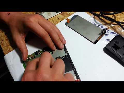Ремонт телефона HTC Desire 300 дисплей и сенсор. Как разобрать HTC 300? Lcd repair HTC Desire 300