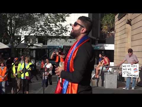 March for Justice - Sako Mkhmeljian