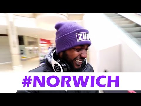 Zuby's Norwich Vlog #2 (The Blue and Purple Store)
