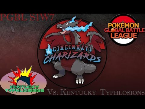 PGBL S1W7 | Cincinnati Charizards (5-1) vs Kentucky Typhlosions (3-3)!