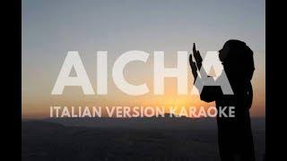 AICHA khaled in ITALIANO Karaoke (Non voglio che amore V. Merlo) by QdK