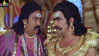 Actor Sayaji Shinde Scenes Back to Back | Yamudiki Mogudu Movie Comedy | Sri Balaji Video