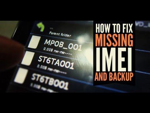 Видео mt6592 imei repair