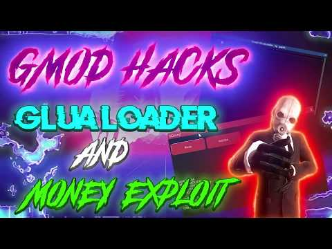 GMOD HACKS | GLUA LOADER | DARK RP MONEY EXPLOIT/HACK | UNDETECTED | 2019 | FREE DOWNLOAD