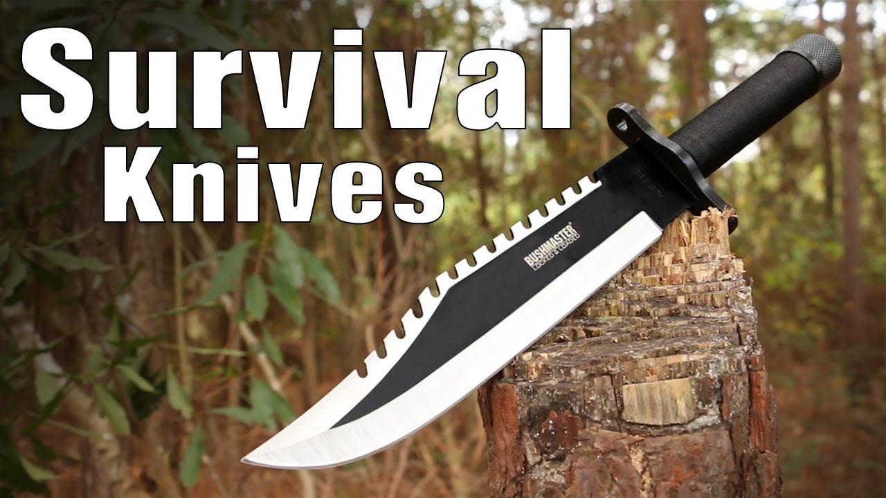 Survival Knives - Survival Kit & Fire Striker Options   BUDK com