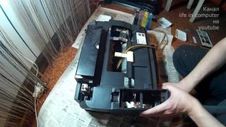 разборка струйного принтера epson(, 2016-01-11T04:07:31.000Z)