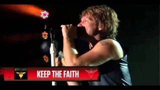 Bon Jovi - Keep The Faith HD (live from Times Square, Best Buy Theater)