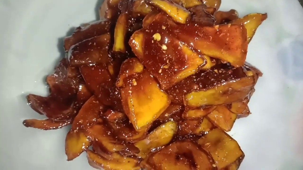 Sweet & Spicy Mango Pickle Recipe At Home!!