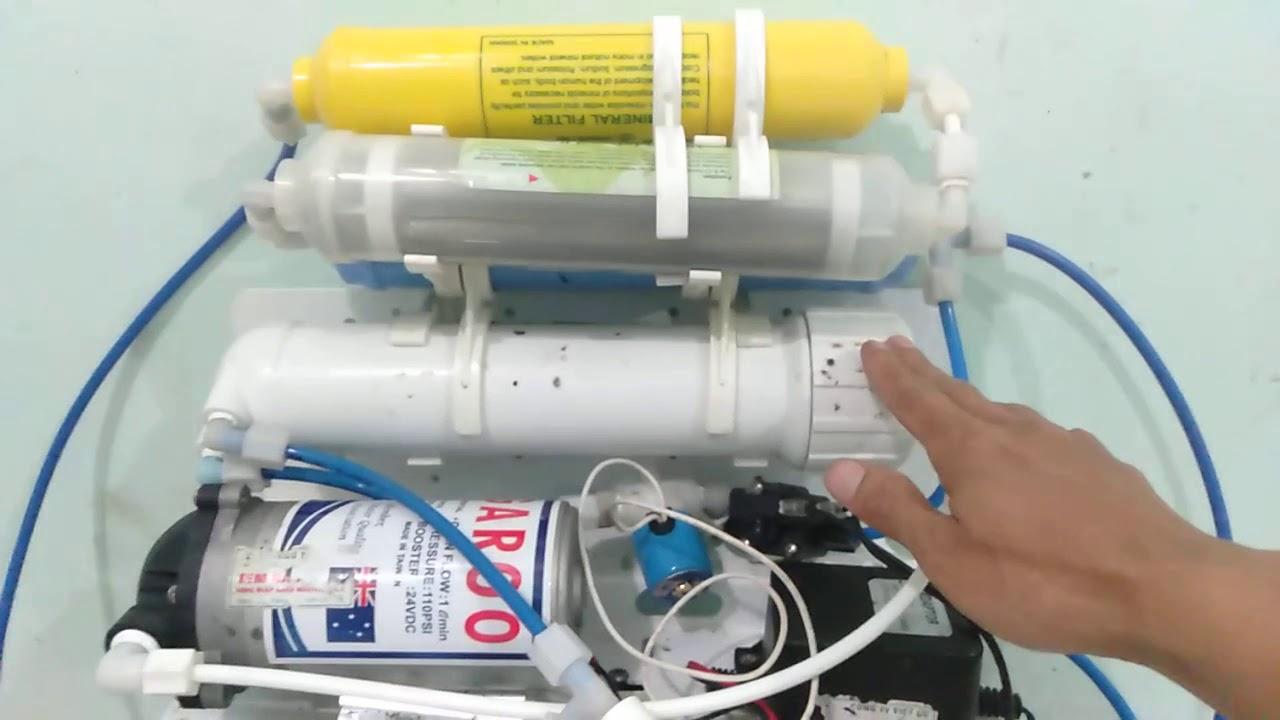 Cách sửa một số hỏng hóc máy lọc nước RO