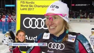WC Ladies Skiathlon