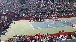 錦織選手スピーチ Rakuten Japan Open Tennis Championships 2016年
