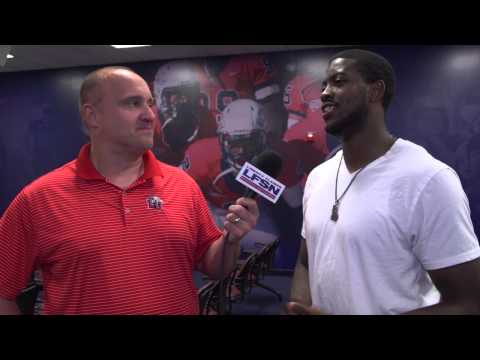 Liberty Football Practice Update with Darrin Peterson