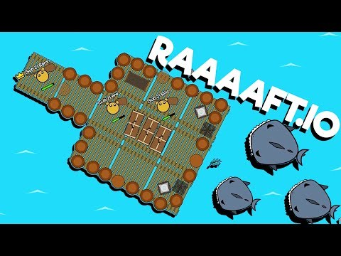 The RAIDING RAFT of DOOM! - Raaaaft.io Game - New io game!