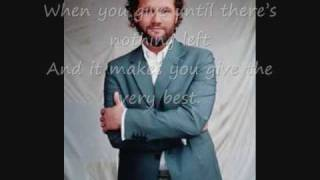 David Phelps - That's What Love Is.  whit Lyrics