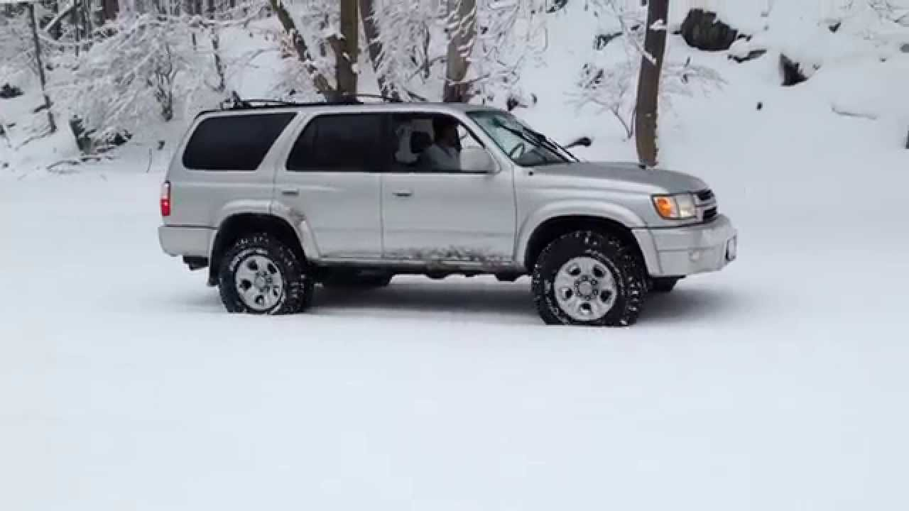 4runner Snow Hill Climb Bfgoodrich All Terrain Ko Youtube