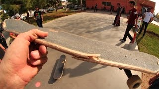 WORST EVER SKATEBOARD AT THE PARK?!