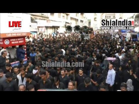 (P1) 20th Ramzan Qaumi Matami Juloos Live Footage 1438-2017