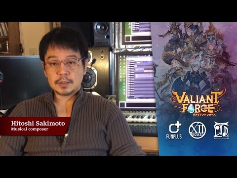 Valiant Force - Hitoshi Sakimoto interview video