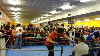 Gracie Barra Chicago- Xavier Guzman-Muay Thai Fight-Active Edge Smoker