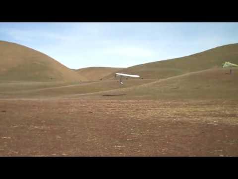 Short hang gliding flight
