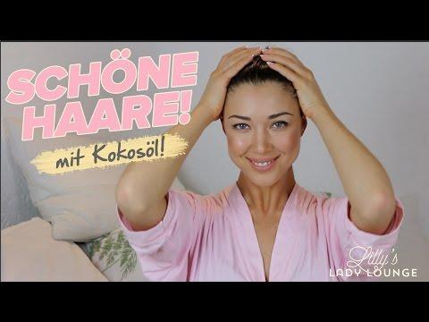 KOKOSÖL für schöne Haare — Anwendung und Tipps