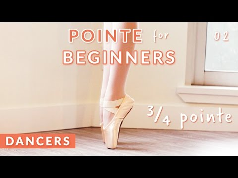 POINTE TRAINING FOR BEGINNERS: DEMI & 3/4 POINTE EXERCISE •  Kisarhi for Dancers