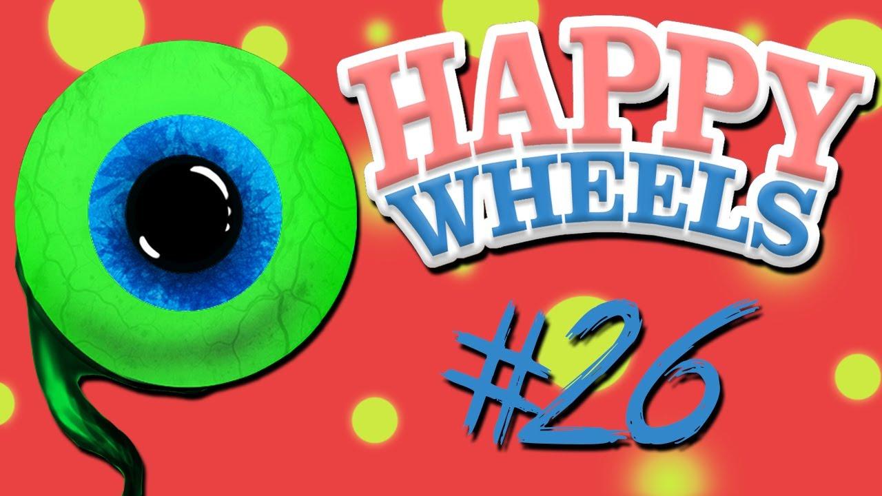Happy Wheels Part 26 Worst Birthday Ever Youtube