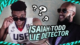 """""""I'm The BEST HOOPER."""" The Most AGGRESSIVE Lie Detector With Isaiah Todd SNAPPING At Larry!"""