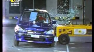 краш-тест - Honda Logo 3dr 2000 (E-NCAP)