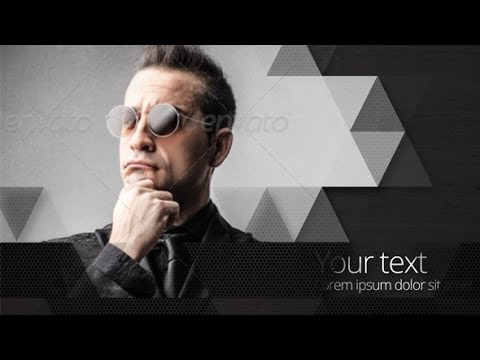 after effects template - triangle slideshow - youtube, Presentation templates