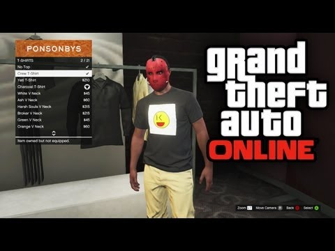 GTA 5 Online - How To Create Your Own Emblem / Custom Shirt (GTA V Online)