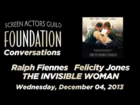 Conversations with Ralph Fiennes and Felicity Jones of THE INVISIBLE WOMAN