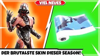 THE MOST BRUTAL SKIN OF THIS SEASON | UNDER PRESS & BLUE CAMO | Fortnite New Shop Today 18.08