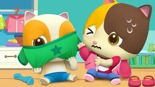 Download Baby Get Dressed Song | Good Habits Song | Nursery Rhymes | Kids Songs | Kids Cartoon | BabyBus Mp3 and Videos