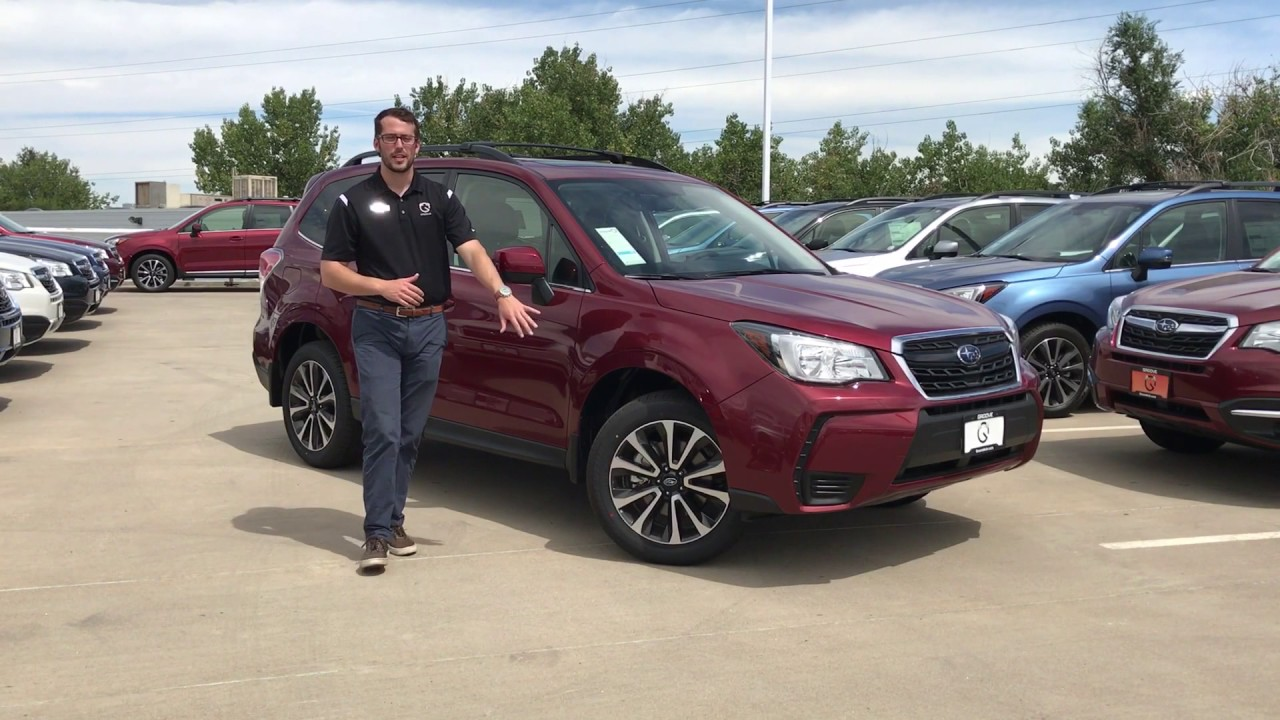Lease subaru forester 2017