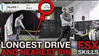 Longest Drive + Nearest The Pin - FSX Skills Challenge