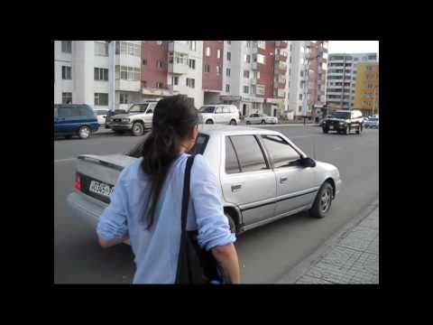 Hailing Mongolian Cab