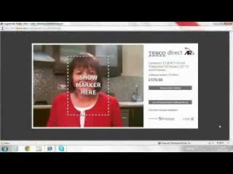 Tesco online shopping: augmented reality