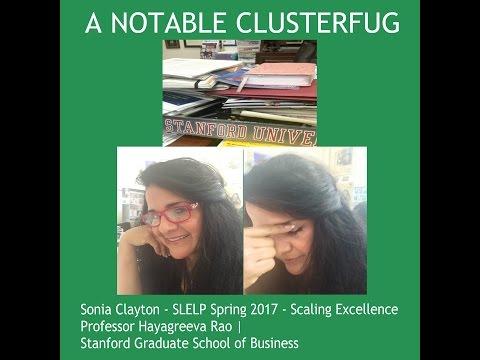 Sonia Clayton  Stanford Latino Entrepreneur Program   Cohort 4 Spring 2017