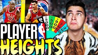 Spin the wheel of player heights! nba 2k16 squad builder