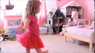 Smiles From Rilee - Dancing to Little Bitty Pretty One by Thurston Harris