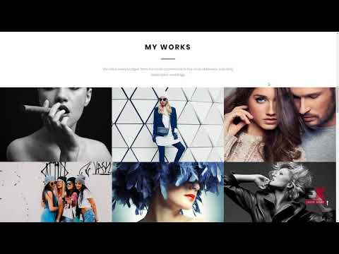 Jon Bin - Freelancer Photographer Portfolio Moto CMS 3 Template TMT J