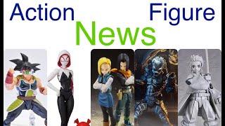 Action Figure News #227 SHF BARDOCK GOKU ANDROID 17 & 18 Figma TANJIRO NECA TMNT & Predator & More!
