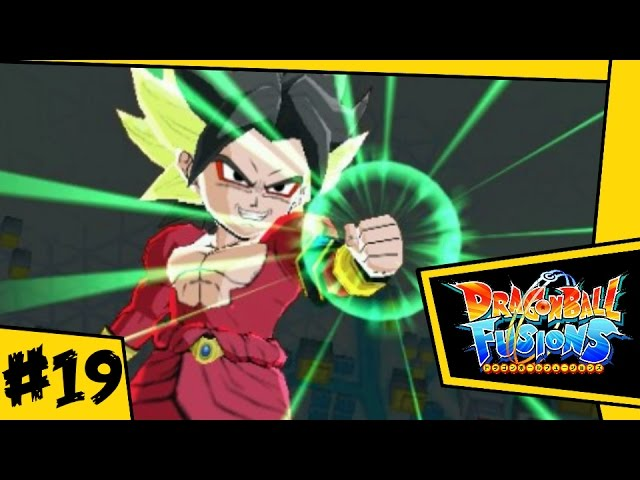 SSJ4 Karoly / Broly!!! | Dragon Ball Fusions 3DS - Lets Play #19
