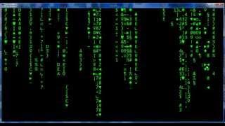 Turbo Pascal 7.0 Matrix Effect HD!
