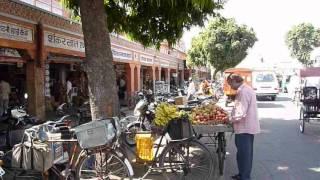 Inde 2009 : Jaipur - Tripolia Bazar road