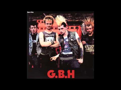 G.B.H. - Slit Your Own Throat